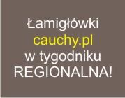 Zagadki cauchy.pl w tygodniku Regionalna